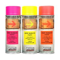 BOMBE DE PEINTURE MILITAIRE SPRAY FOSCO 400 ML RED ORANGE FLUO