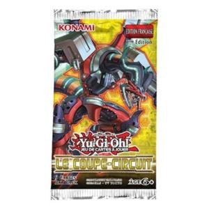 1 BOOSTER DE 9 CARTES SUPPLEMENTAIRES YU GI OH LE COUPE CIRCUIT