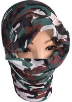 TOUR DE COU / BANDEAU TUBE / HEADGEAR MULTIFONCTION EXTENSIBLE - CAMOUFLAGE WOODLAND