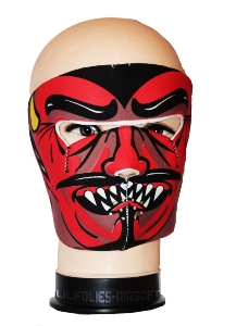 MASQUE DE PROTECTION NEOPRENE DIABLE ROUGE