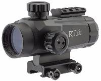 RED DOT VISÉE POINT ROUGE ET BLEU RTI TACTICAL 1X30 AVEC RAIL PICTINNY 4 CM