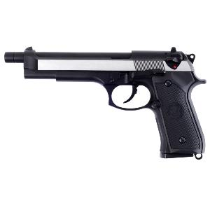 BERETTA M92 WE LONG FULL METAL GAZ BLOWBACK HOP UP NOIR 1.3 JOULE