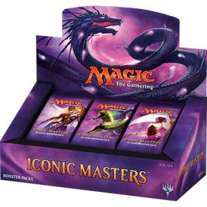 24 BOOSTERS DE 15 CARTES SUPPLEMENTAIRES ICONIC MASTERS DE MAGIC THE GATHERING VERSION ANGLAIS
