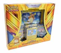 COFFRET / BOX POKEMON 3 BOOSTERS RAICHU D'ALOLA EVOLUTION SOLEIL ET LUNE XY