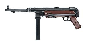 MP GERMAN AEG METAL FULL AUTO HOP UP BICOLORE NOIR ET MARRON 1 JOULE