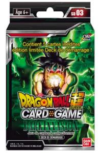 DRAGON BALL SUPER CARD GAME - DECK DE DEMARRAGE THE DARK INVASION - SD03