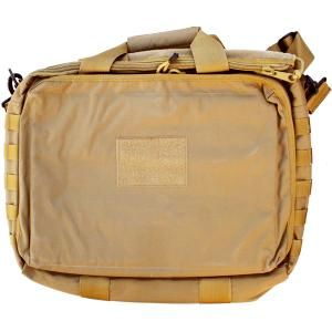 "SACOCHE TACTIQUE BEIGE TAN POUR ORDINATEUR PORTABLE 15"" SWISS ARMS"