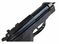P38 WE NOIR GAZ BLOWBACK SEMI AUTO 0.9 JOULE
