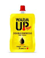 BOISSON EN GOURDE AUTO CHAUFFANTE WARM UP POCKET 100 ML - DOUBLE EXPRESSO NON SUCRE