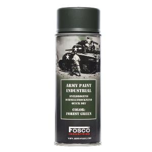 BOMBE DE PEINTURE MILITAIRE SPRAY FOSCO 400 ML FOREST GREEN VERT FORET