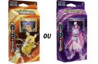 DECK DE 60 CARTES ALEATOIRE PUISSANCE PIKACHU OU MEWTWO POKEMON EXTENSION XY12 EVOLUTIONS