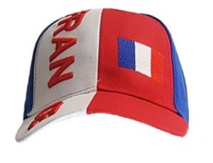 LOT DE 12 CASQUETTES BASEBALL SUPPORTER FRANCE
