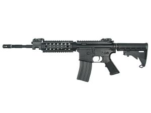 M&P15 PSX SMITH ET WESSON AEG METAL SEMI ET FULL AUTO HOP UP AVEC RAILS 1.1 JOULE