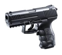 P30 H&K AEP NOIR UMAREX BLOW BACK SEMI ET FULL AUTO SYSTEME SHOOT UP AVEC RAIL 0.5 JOULE