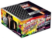 ROCK'N ROLL - BATTERIE DE 100 ARTIFICES MULTI EFFETS WECO