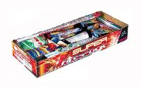ASSORTIMENT DE 58 ARTIFICES SUPER FIRE PACK WECO POUR FEU ARTIFICE