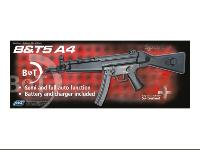 B&T 5 MP5 A4 AEG SEMI ET FULL AUTO HOP UP 1.2 JOULE JING GONG ASG