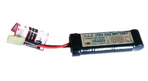BATTERIE NIMH RECHARGEABLE 8.4 V 1100 MAH TYPE MINI CYBERGUN