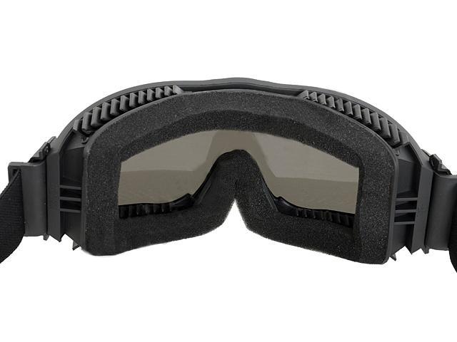 Bd2501 lunette masque protection razor noir ecrans interchangeables housse acm airsoft - Lunette protection ecran ...