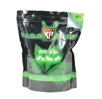 BILLES KING ARMS 5000 X 0.20 G BLANCHES BIO DÉGRADABLE EN SACHET