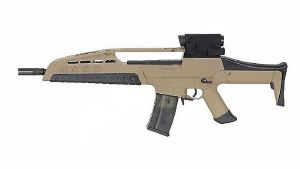 FUSIL A BILLES XR8 III AEG TAN SEMI ET FULL AUTO HOP UP 1.5 JOULE
