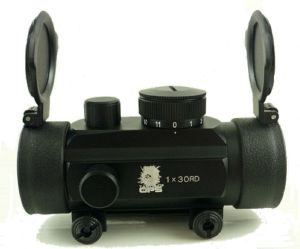 VISEE POINT ROUGE RAVELIN DOT 30 MM TACTICAL OPS AVEC RAIL INTEGRE