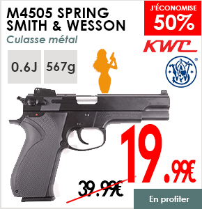 M4505 SPRING SMITH ET WESSON