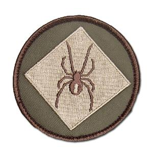 ÉCUSSON OU PATCH LOGO REDBACK ONE SPIDER MULTICAM MSM