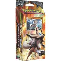 DECK STARTER DE 60 CARTES POKEMON ROCHER STABLE SOLEIL ET LUNE 3 LOUGAROC