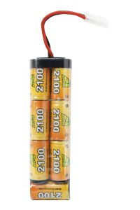 BATTERIE 8.4 V 2100 MAH A2PRO TYPE LARGE 7 ÉLÉMENTS AIRSOFT