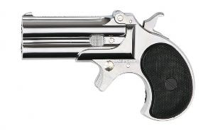 DERRINGER PISTOLET REVOLVER CHROME GAS MARUSHIN METAL HOP UP 0.6 JOULE