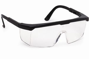 LUNETTE DE PROTECTION OCULAIRE BLANCHE ANTI RAYURES EVASPORT AIRSOFT