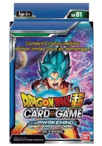 DRAGON BALL SUPER CARD GAME - DECK DE DEMARRAGE THE AWAKENING - SD01