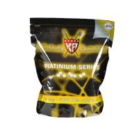 BILLES KING ARMS / SWISS ARMS 5000 X 0.20 G BLANCHES EN SACHET PLATINIUM SERIES