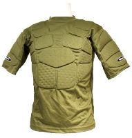 BODY ARMOR / TEE SHIRT TACTIQUE PARE BILLES VERT OLIVE SWAP TAILLE S / M
