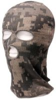 CAGOULE 3 TROUS BALACLAVA CAMO AT DIGITAL 3D 100% ACRYLIQUE / LAINE