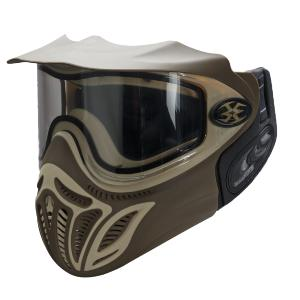 MASQUE DE PROTECTION EMPIRE EVENT MARRON AVEC ECRAN THERMAL