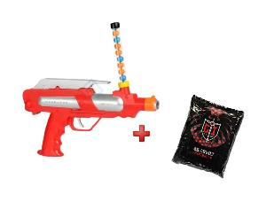 PACK DE 1 FUSIL PAINTBALL + 1 SACHET DE 500 BILLES PAINTBALL