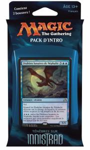PACK D'INTRO TÉNÈBRES SUR INNISTRAD SECRETS DEVOILES MAGIC THE GATHERING