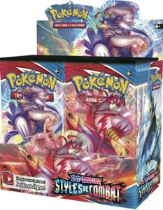 BOITE DE 36 BOOSTER DE 10 CARTES SUPPLEMENTAIRES POKEMON EPEE ET BOUCLIER 5 EB05 - STYLES DE COMBAT