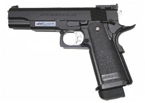 HI-CAPA 5.1 GAZ BLOW BACK NOIR FULL METAL 1 JOULE