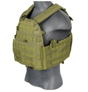 GILET TACTIQUE PLATE CARRIER 69T4 OD 1000D LANCER TACTICAL