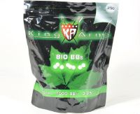 BILLES KING ARMS 4000 X 0.25 G BLANCHES BIO DEGRADABLE EN SACHET