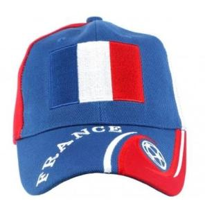 CASQUETTE BASEBALL SUPPORTER FRANCE