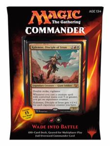 DECK COMMANDER PARTICIPATION AU COMBAT MAGIC THE GATHERING