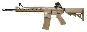 GR15 RAIDER XL DST AEG TAN BLOWBACK / CULASSE MOBILE HOP UP 1.2 JOULE
