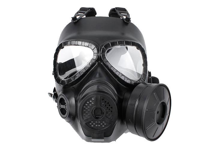 masque de protection visage a gaz m04 noir optronics hmg0193 airsoft ventilateur anti buee. Black Bedroom Furniture Sets. Home Design Ideas