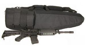 HOUSSE DE PROTECTION / TRANSPORT NOIRE SWISS ARMS 100 CM FORME SNIPER