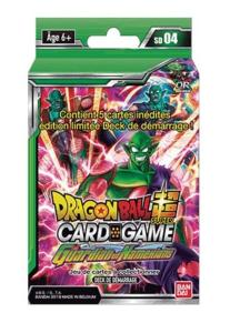 DRAGON BALL SUPER CARD GAME - DECK DE DEMARRAGE THE GUARDIAN OF NAMEKIANS - SD04