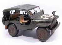 JEEP MINIATURE WILLYS MODEL US EN METAL